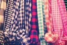 Gingham textil