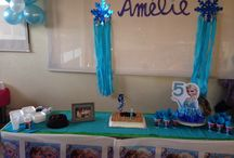Fiesta cumpleaños Frozen / Decoración fiesta de cumpleaños