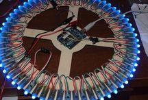 Gos darn pretty lights / Arduino powered led art