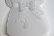 convites batizado em papel vegetal