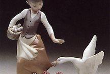statuine ceramica