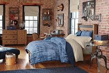 Chambres style industriel