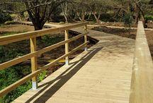 Obras de adecuación río Sar / Traballos de restauración no río Sar