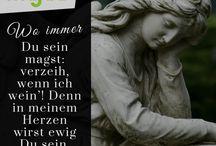 Trauersprüche / Einfühlsame Trauerbilder mit schönen und herzlichen Trauersprüchen
