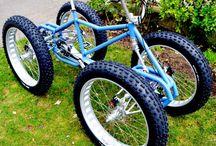 Sykler og utstyr