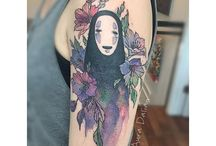 Japanese Anime Tattoos