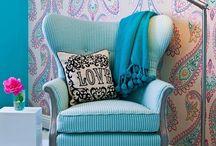 decoração turquesa
