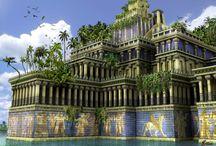 Civilizaciones y grandes ciudades / Referencias a las grandes civilizaciones y a las principales ciudades de la historia de la humanidad.