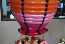 Air balloon theme