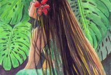 Hawai saç rengi