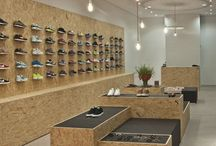 shoe showcases