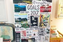 Vision board ideas/planning