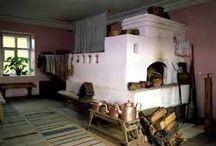 old Russian oven - Старинная Русская печь