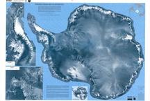 cartes Antarctique