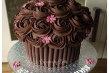 cup cakes gigantes