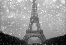 Paris sous la neige / #France #paris #neige #snow #winter #hiver