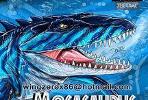 Dino oceaan