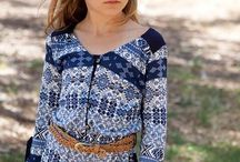 Girls Boho Clothing / The Bohemian clothing trend from adult fashion has exploded in girls boutique designs as well. Girls love these mini me fashions!  / by Everything But The Princess