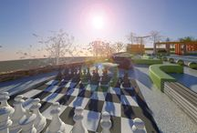 Outdoor chess designs Greece