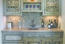 Cabinets / Inspiration for painted cabinetry. / by Nancy Jones