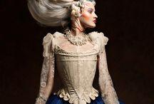 Modern historical hair