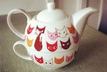 Sandy B--Cat Teapots. / by Sandra Belisle
