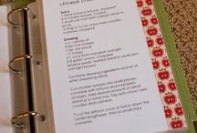 Recipe Template Ideas / by Antoinette Raggio