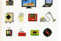 cross stitch & embroidery / by Colleen Yarnell