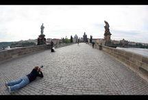 Trabajando por el mundo / Fotografías mias justo antes de hacer click / by JoseLuisGuardia