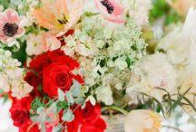 Flower arrangements / Weddings