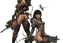 Sci-Fi-Weapons/Amor