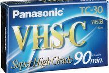 Videokazety VHS-C