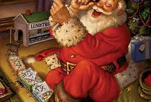 ~Ho Ho Ho-The Jolly Guy~ / ~When you Stop Believing-you've Lost the Magic of the Season~ / by Sandra Williams Smith