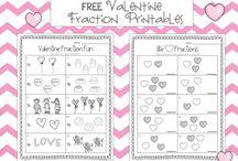 Valentine's Day Worksheets/Printables