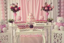 Decorações Meninas Be Happy / Nossas decorações para meninas.