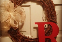 DIY wreath crafts / by Tara Cristin