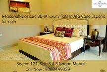 Buy 3BHK Luxury Flats in Mohali / ATS #CasaEspana offers 3BHK #spacious luxury flats and #apartments near #Chandigarh. Call Now : 9888449029