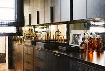 MASCULINE / INDUSTRIAL HOMES / Industrial, dark, masculine interiordesign inspiration