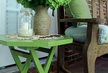 green patio