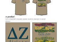 Delta Zeta / Delta Zeta custom shirt designs #deltazeta #deezee #dz  For more information on screen printing or to get a proof for your next shirt order, visit www.jcgapparel.com