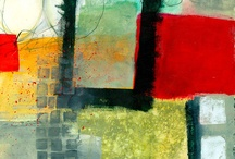 Abstract art / I find abstraction harder than representational art. How about you? Here are artists who inspire me.
