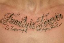 Mens tattoos quotes family