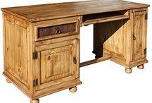 Rustic Pine Furniture ~ Office