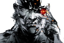 Metal gear Solid artwork