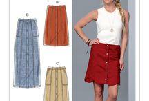 Patterns:  Skirts