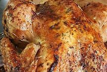 Poulet roti au beurre aromatise, de Amusesbouche