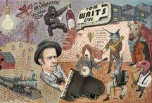 Tom Waits / Tom Waits' Melodramatic Nocturnal Scene