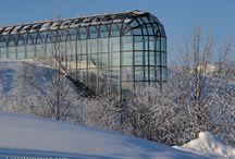 Rovaniemi photos - hometown of Santa Claus / Rovaniemi in Finland is the official hometown of Santa Claus
