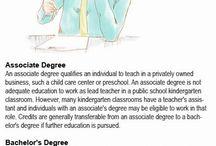 Becoming a Kindergarten Teacher