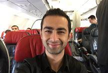 Uçak Selfiesi / İşe uçakla gitmek